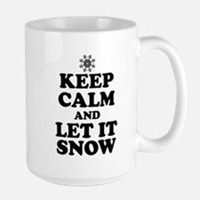 Keep Calm Let It Snow Mugs