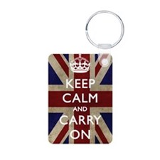 large_KEEP_CALM_UNION_JACK Keychains
