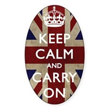 large_KEEP_CALM_UNION_JACK Decal