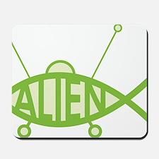 Alien UFO Mousepad