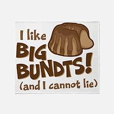 I like BIG BUNDTS Throw Blanket