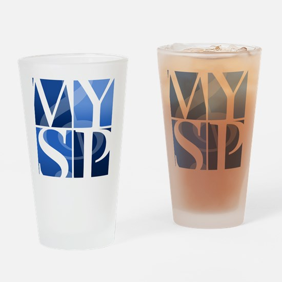 MYSP LOGO Drinking Glass