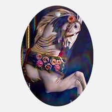 Carousel Memories Oval Ornament