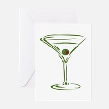 Martini Greeting Cards (Pk of 10)