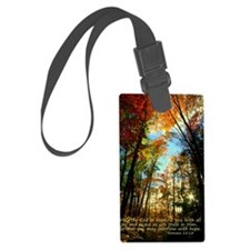 Color Explosion Luggage Tag