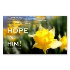 Hope In Him Decal