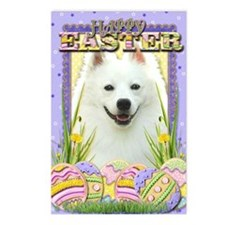 EasterEggCookiesAmericanE Postcards (Package of 8)