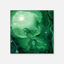 "mermaidcave Square Sticker 3"" x 3"""