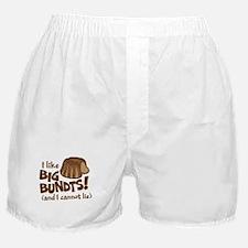 I like BIG BUNDTS Boxer Shorts