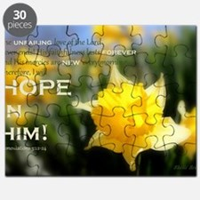 4x6 PNG- Daffy Delight: HOPE IN HIM 2 two-t Puzzle