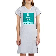 Breastfeed Turq Women's Nightshirt
