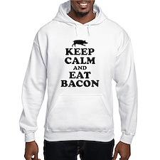 Keep Calm Eat Bacon Hoodie