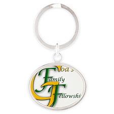 Sticker GFF Oval Keychain