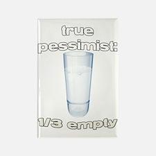pessimist 2 Rectangle Magnet
