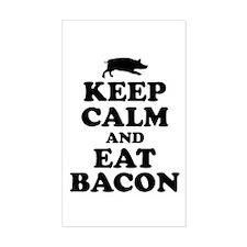 Keep Calm Eat Bacon Decal