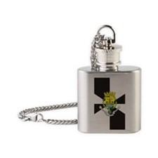 Lisbon (iTh4) Flask Necklace