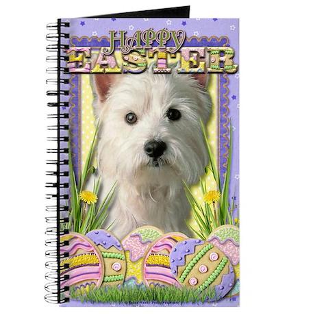 EasterEggCookiesWestHighlandTerrier Journal