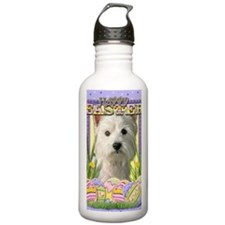 EasterEggCookiesWestHi Water Bottle