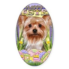 EasterEggCookiesYorkshireTerrier Decal