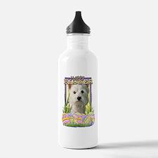 EasterEggCookiesWestHi Water Bottle