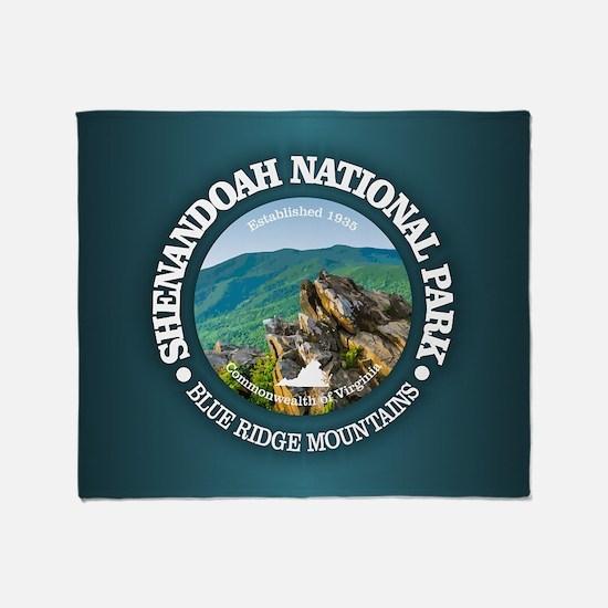 Shenandoah National Park Throw Blanket