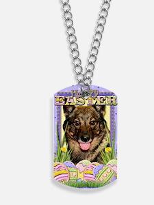 EasterEggCookiesVallhund Dog Tags