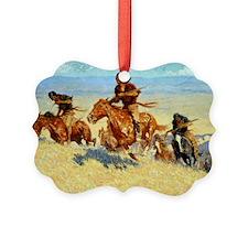 Buffalo Runners-Big Horn Basin, 1 Ornament