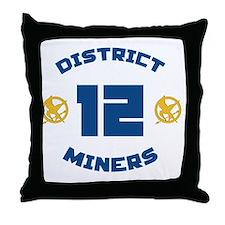 district 12 Throw Pillow