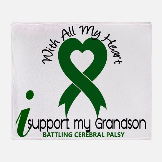 D GRANDSON Throw Blanket