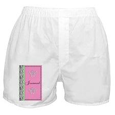 Zebra Journal Boxer Shorts