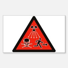 Radioactive Radiation Decal