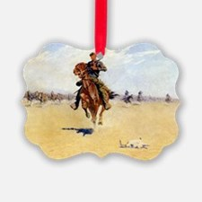 Cutting Out Pony Herds, 1913 Ornament