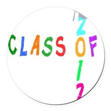 Class Of 2012 Wild 2 Round Car Magnet