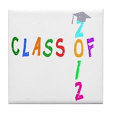 Class Of 2012 Wild 2 Tile Coaster