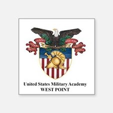 "USMA 2 Square Sticker 3"" x 3"""
