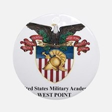 USMA 2 Round Ornament