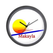 Makayla Wall Clock