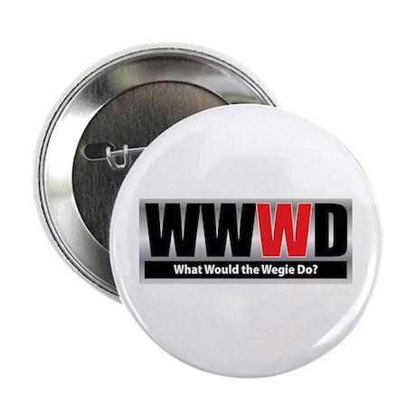 "What Wegie 2.25"" Button (100 pack)"