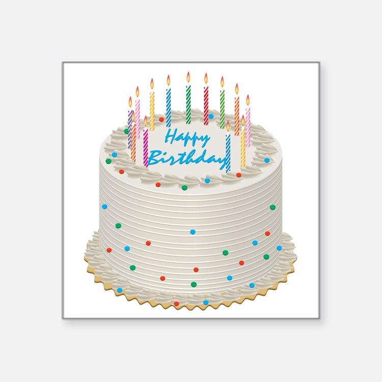 Happy Birthday Personalized Cake