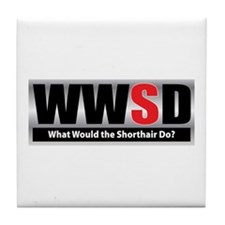 What Shorthair Tile Coaster