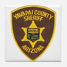 Yavapai County Sheriff Tile Coaster