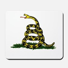 DONT TREAD ON ME Dark Apparel Mousepad
