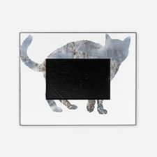 Blue Cat Picture Frame