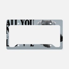 schn_clutch_bag_front_ License Plate Holder