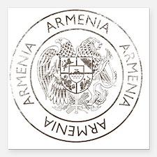 "armenia13 Square Car Magnet 3"" x 3"""