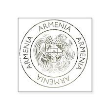 "armenia13Bk Square Sticker 3"" x 3"""