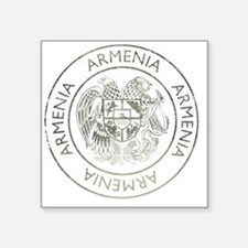 "armenia13Bk Square Sticker 3"" x 3"""