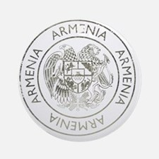 armenia13Bk Round Ornament