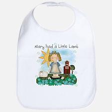 Mary Had a Little Lamb Bib