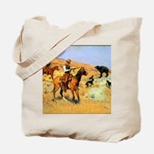 His Last Stand, c Tote Bag